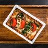 Фото к позиции меню Баклажаны, запеченные с домашним сыром и помидорами