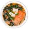 Фото к позиции меню Мисо суп с лососем