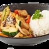 Фото к позиции меню Курица, обжаренная с овощами