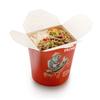 Фото к позиции меню Рисовая лапша со свининой и овощами