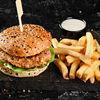 Фото к позиции меню Сэндвич Лимон и перец