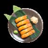 Фото к позиции меню Суси с копченым лососем