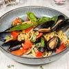 Фото к позиции меню Спагетти с мидиями