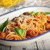Фото к позиции меню Спагетти с мясным рагу