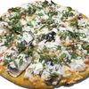 Фото к позиции меню Пицца Куриная с грибами