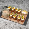 Фото к позиции меню Форшмак из сельди с ржаными тостами