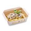 Фото к позиции меню Паста с грибами в сливочном соусе