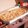 Фото к позиции меню Пицца Сырная с грушей полуметровая