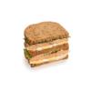 Фото к позиции меню Сандвич-блумер с лососем в нормандском стиле