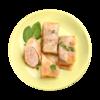 Фото к позиции меню Голубцы мясные тушеные в томатно-сливочном соусе