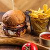 Фото к позиции меню Бургер с трюфельным соусом