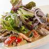 Фото к позиции меню Теплый салат с говяжей вырезкой