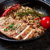 Фото к позиции меню Филе фермерского цыпленка гриль с рисом-микс и овощами