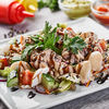 Фото к позиции меню Американский салат с тунцом