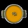 Фото к позиции меню Суп-пюре из тыквы с семечками