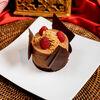 Фото к позиции меню Шоколадное парфе с малиной