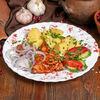 Фото к позиции меню Телятина отбивная с томатами