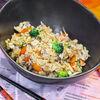 Фото к позиции меню Рис с овощами и тайскими грибами