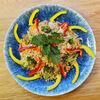 Фото к позиции меню Рис со спаржей и овощами