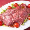 Фото к позиции меню Карпаччо из говядины