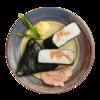 Фото к позиции меню Онигири с тунцом