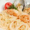 Фото к позиции меню Фетучини с морепродуктами