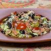 Фото к позиции меню Салат с лососем и овощами