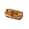 Фото к позиции меню Black&bean бургер с фасолью