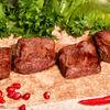 Фото к позиции меню Шашлык из говяжьей вырезки