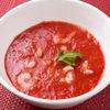 Фото к позиции меню Суп Томатный с креветками