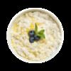 Фото к позиции меню Каша рисовая на кокосовом молоке