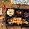 Фото к позиции меню Детский обед с куриным шашлычком