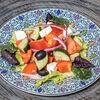 Фото к позиции меню Салат из овощей с фетой