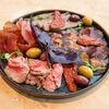 Фото к позиции меню Сет из вяленого и запеченого мяса