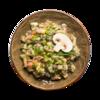 Фото к позиции меню Салат Оливье с жареными грибами