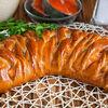 Фото к позиции меню Пирог с кетой и картофелем