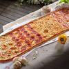 Фото к позиции меню Метровая пицца Четыре сезона