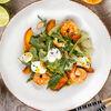 Фото к позиции меню Салат С креветками и манговым соусом
