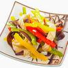 Фото к позиции меню Салат Кальмары с овощами