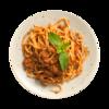 Фото к позиции меню Спагетти Болоньезе