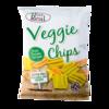 Фото к позиции меню Чипсы овощные Eat Real с капустой Кейл, томатом, шпинатом и картофелем