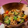 Фото к позиции меню Хрустящие овощи, обжаренные в воке