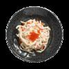 Фото к позиции меню Салат из кальмаров с красной икрой