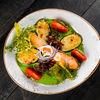 Фото к позиции меню Нежное филе лосося с овощами