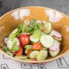 Фото к позиции меню Салат из сезонных овощей