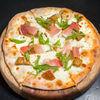 Фото к позиции меню Пицца с белыми грибами и Пармой