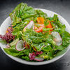 Фото к позиции меню Большой рыночный салат с яйцом пашот