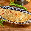 Фото к позиции меню Кутаб с сыром сулугуни и зеленью