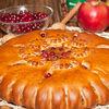 Фото к позиции меню Пирог с яблоками