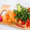 Фото к позиции меню Овощное ассорти с зеленью